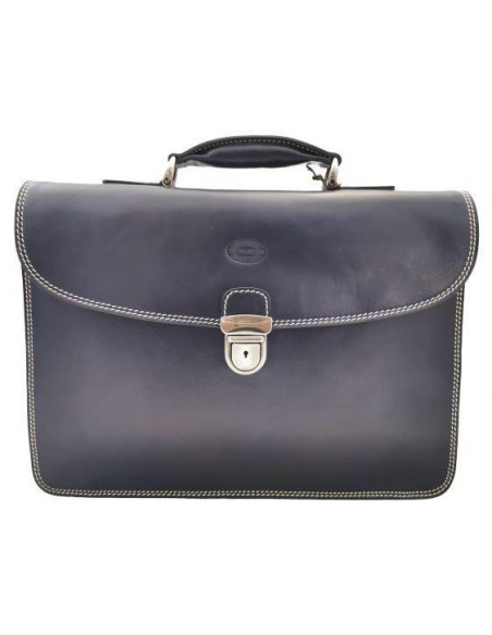 Classic 2 compartment briefcase (4024)