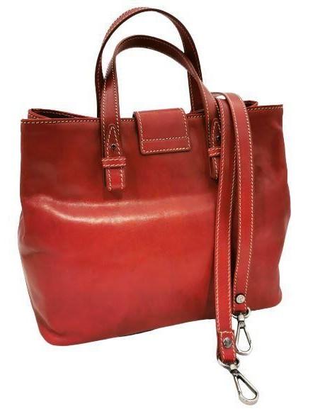 De Martino buffalo leather handbag and shoulder bag (4094)