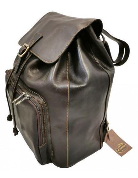 De Martino large buffalo leather backpack (5035)