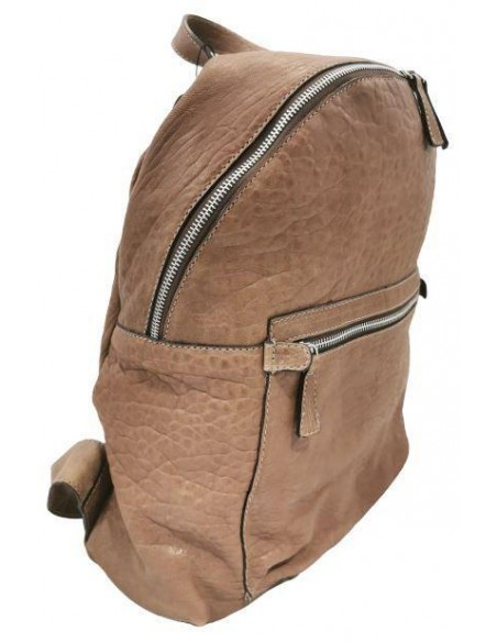 De Martino distressed leather backpack (6005)