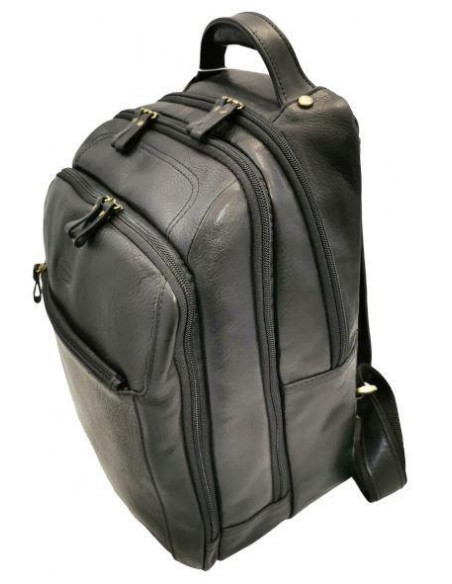 De Martino large buffalo leather backpack (7001)