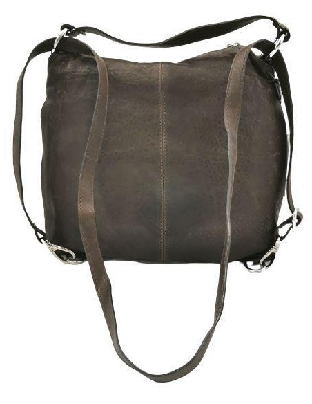 De Martino Texas leather backpack and shoulder bag (T300)