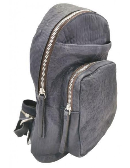 De Martino Texas leather backpack and shoulder bag (T305)