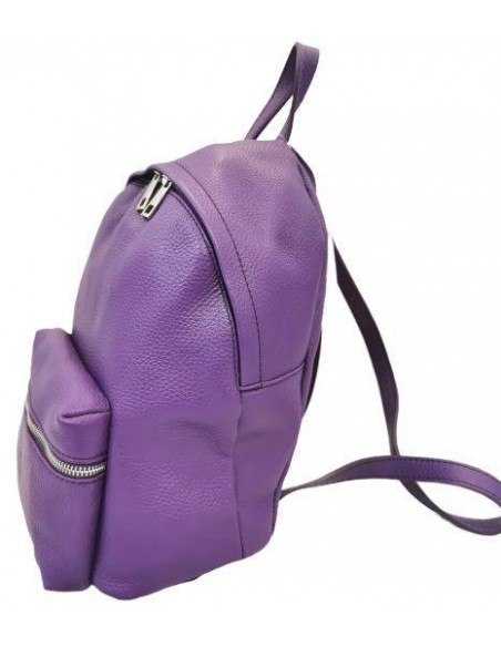 De Martino classic soft leather backpack (424 alce)