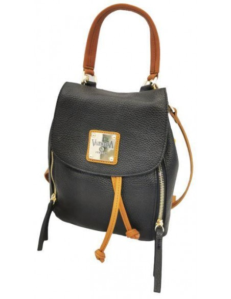 Valentina small soft leather backpack (4243)