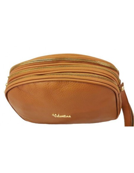 3 compartment Valentina crossbody bag (1826)