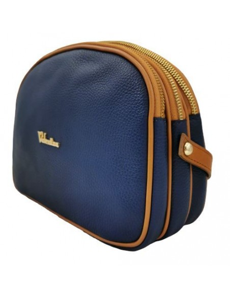 3 compartment Valentina crossbody bag (1826)