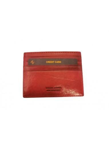 Buffalo leather credit card holder (1923)
