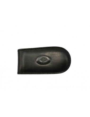 Buffalo leather money clip (1999)