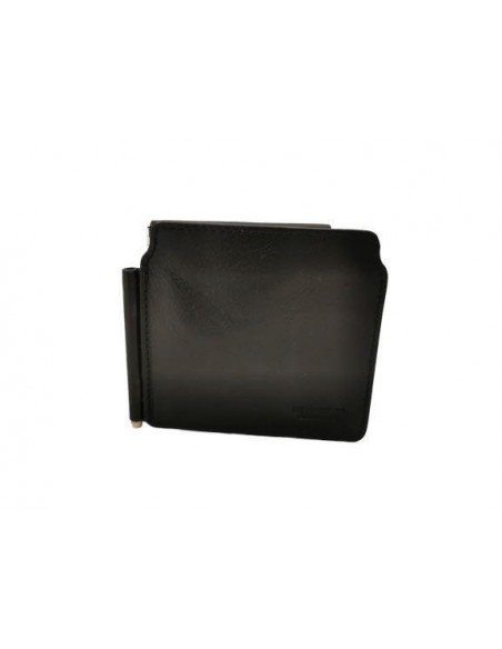 Buffalo leather wallet with money clip (kt020)