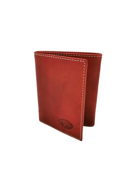 Buffalo leather trifold wallet (1927)