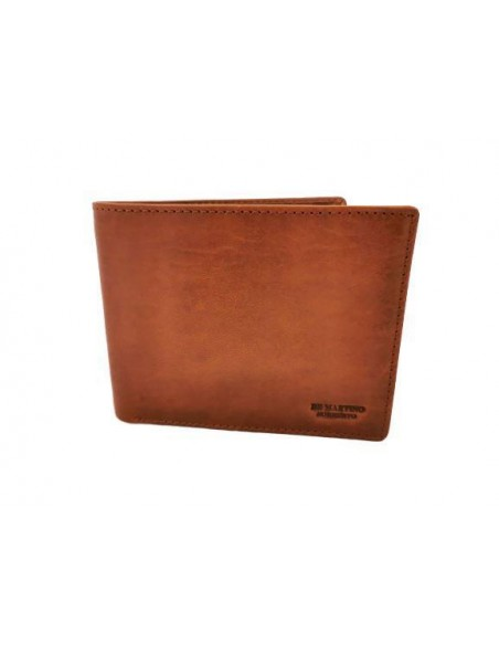 Classic buffalo leather wallet with coin pouch (kt001)