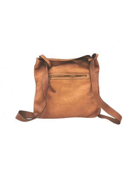 Valentina soft leather backpack handbag (5511)