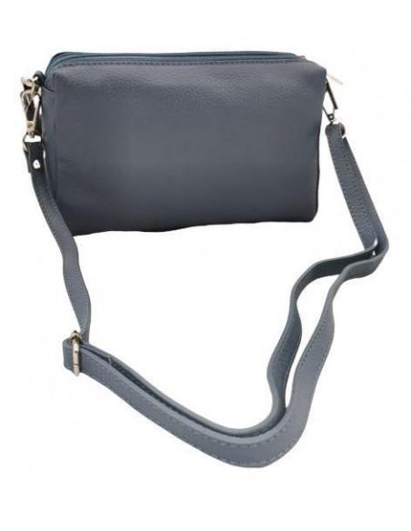 Soft leather crossbody bag (372)