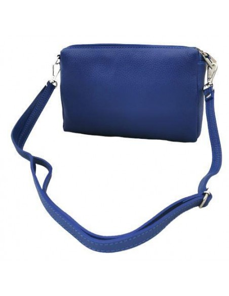 Soft leather crossbody bag (372)