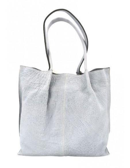 De Martino distressed leather tote bag (4691)
