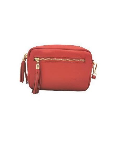 Soft leather crossbody bag (371)