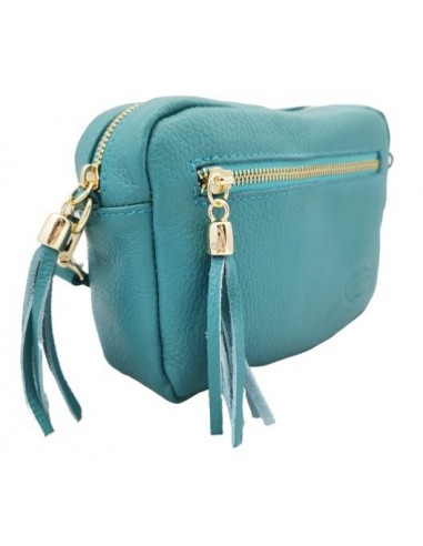 Soft leather crossbody bag (371)