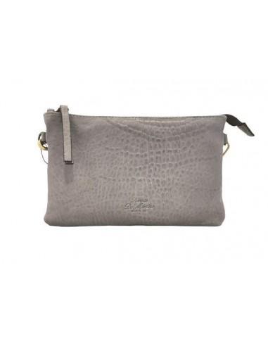 Simple De Martino distressed leather crossbody bag (204)