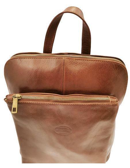De Martino buffalo leather multiway backpack  (314)