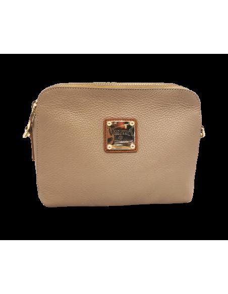 Compact 3 compartment Valentina crossbody bag (4289)