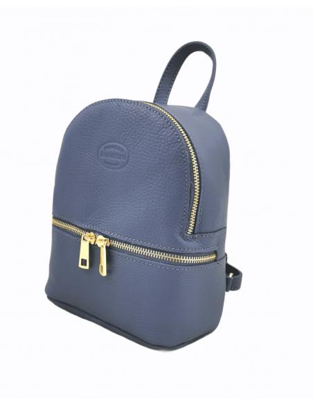 Mini soft leather De Martino backpack (533)
