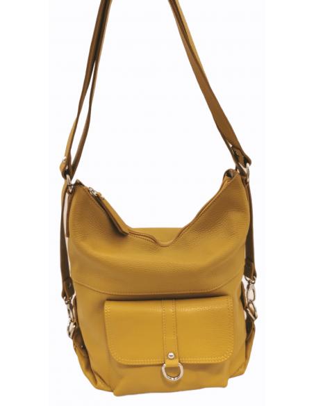 De Martino soft leather backpack and shoulder bag (376)
