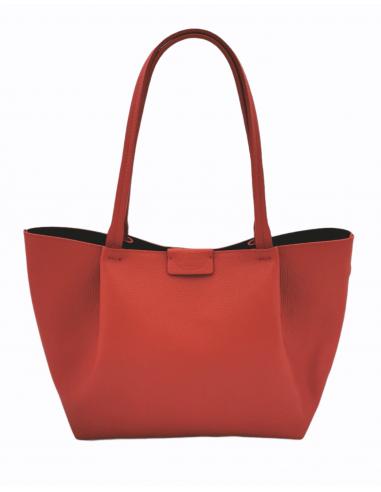 De Martino medium size pebbled leather shopper (511)