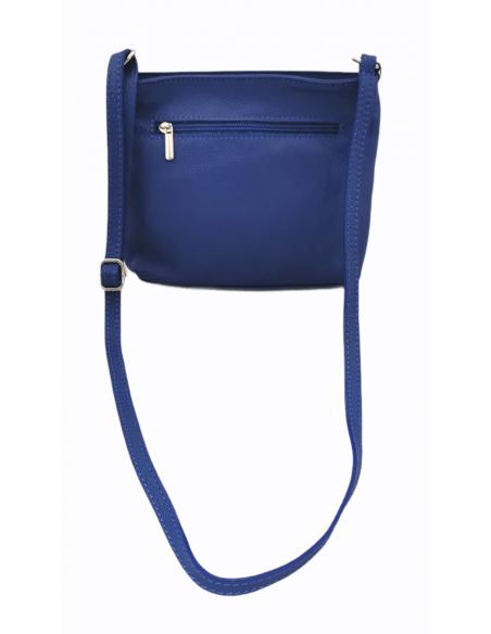 De Martino small soft leather crossbody bag (02 20)