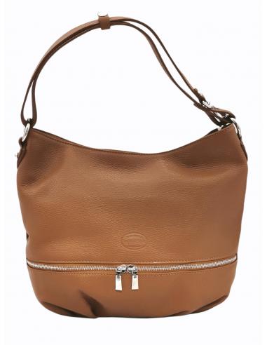 Slouchy De Martino handbag with adjustable strap (384)