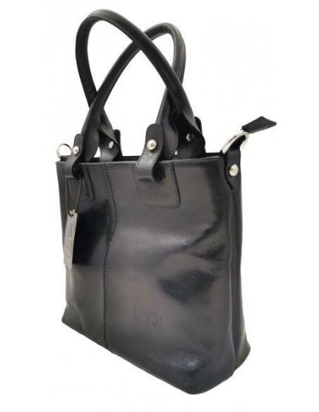 Small Valentina buffalo leather handbag and shoulder bag (1900/3)