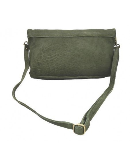 Large De Martino fold over clutch and crossbody bag  (8252)