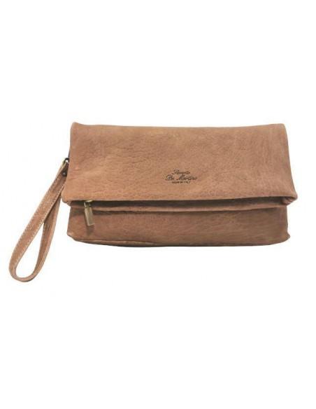 Large De Martino fold over clutch and crossbody bag  (8252)