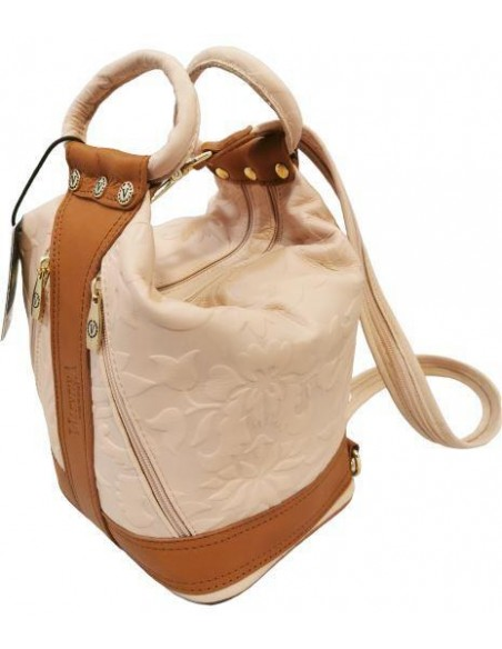 Valentina floral soft leather multiway bag (901/2)