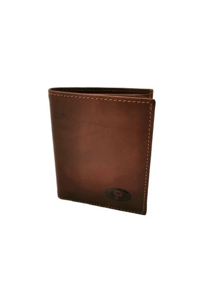 Buffalo leather trifold wallet (1930)