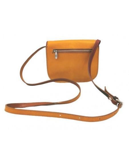 Small multicolour Valentina saddle bag (4310)