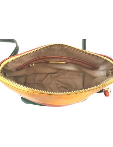Small multicolour Valentina crossbody bag (4360)